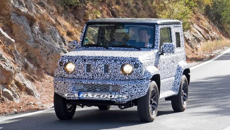 Suzuki Tertangkap Kamera Sedang Tes Jimny Terbaru