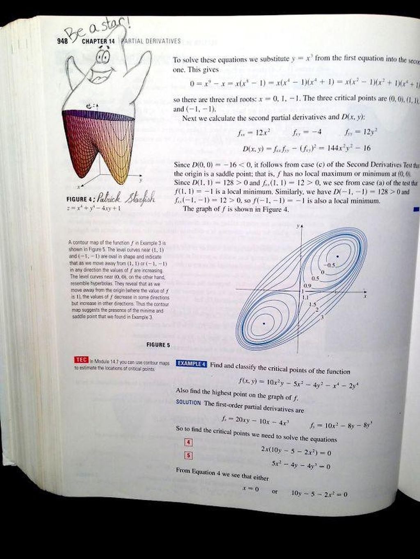 Kemunculan karakter Patrick di soal matematika. Foto: istimewa