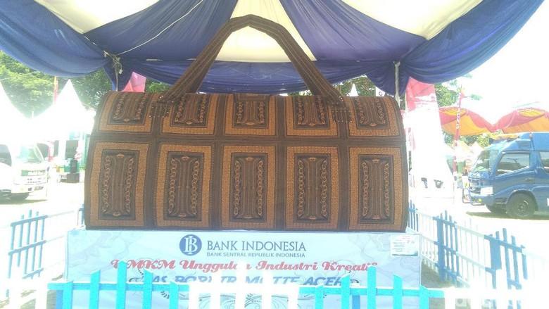 Foto: Tas Raksasa di Aceh (Datuk Haris/detikTravel)