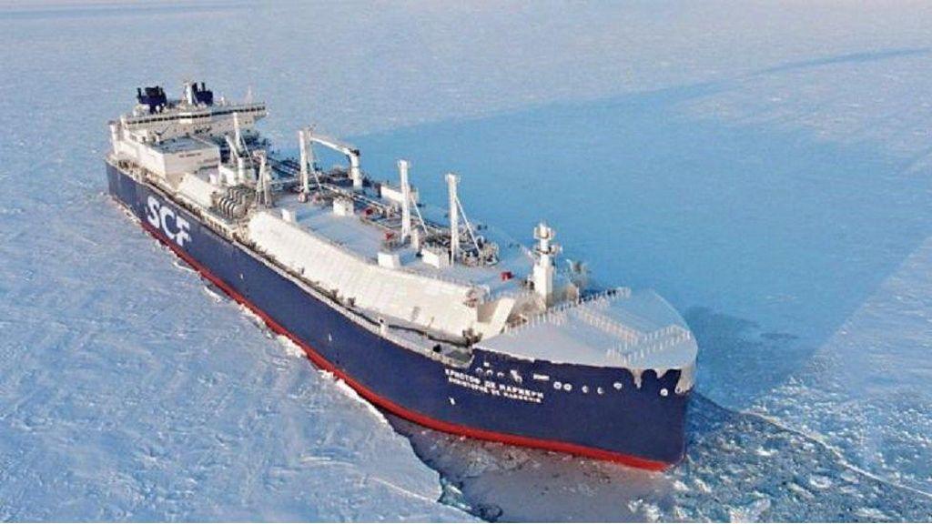 Lapisan Es di Kutub Utara Mencair, Kapal Tanker Bisa Melintas