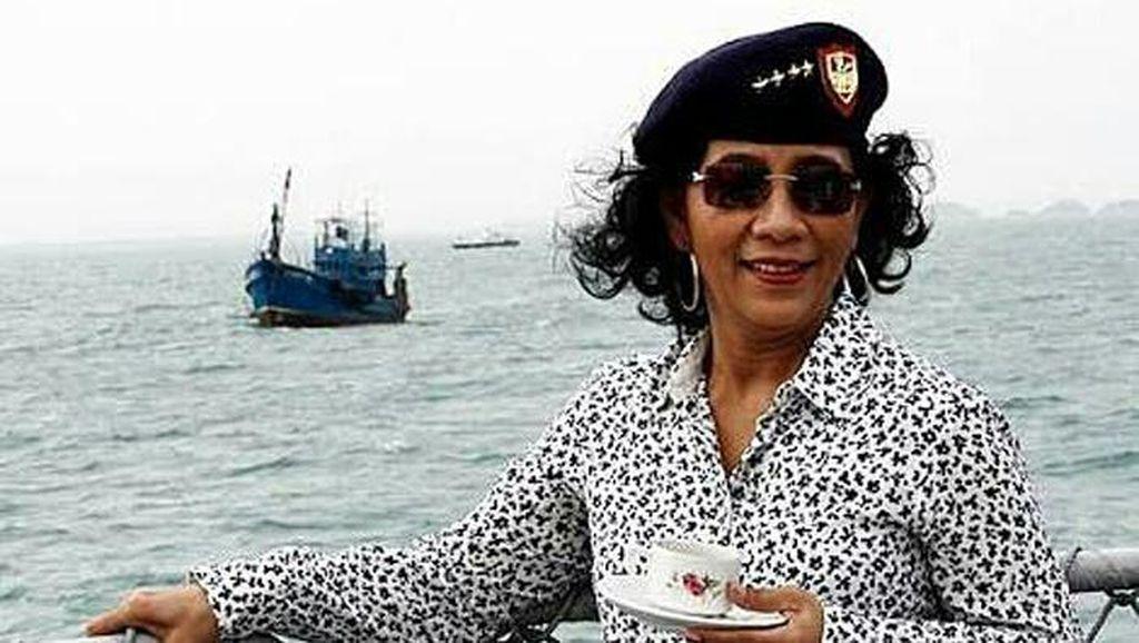Ramai-ramai Netizen Dukung Susi Tetap Tenggelamkan Kapal