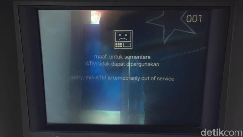 Ribuan ATM Bank Offline Dalam 2 Hari, Ini Penjelasan BI