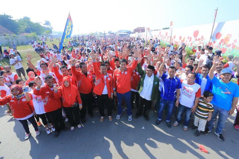 Kirab Kebhinekaan di Bogor, Maruarar: Kita Pancasilakan Indonesia