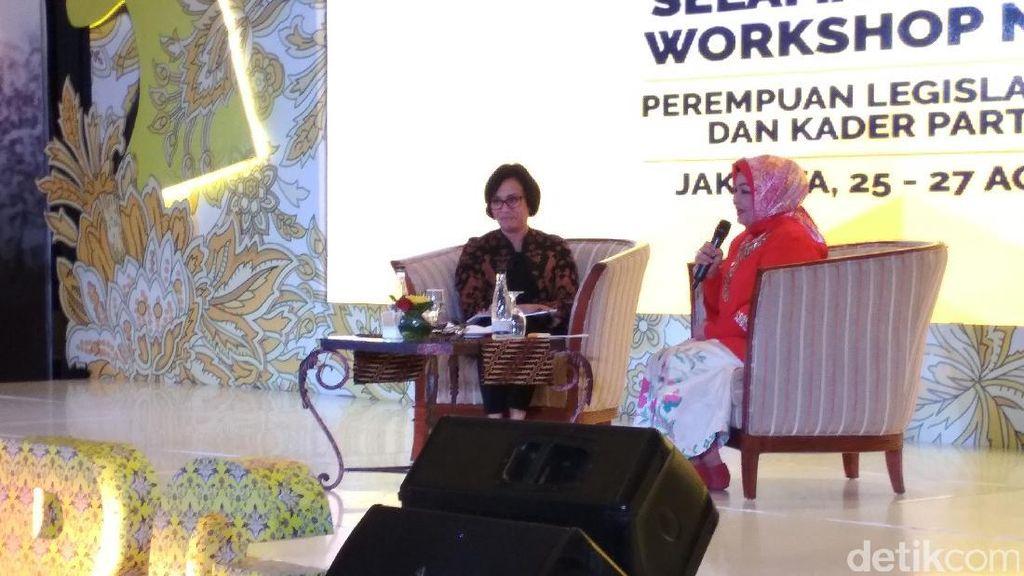 Di Depan Kader Golkar, Sri Mulyani Bicara Soal Perempuan dan Korupsi