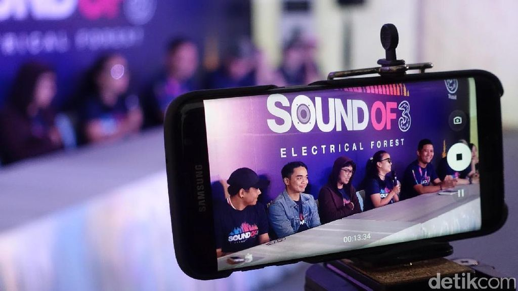 Seru-seruan di Sound of Tri