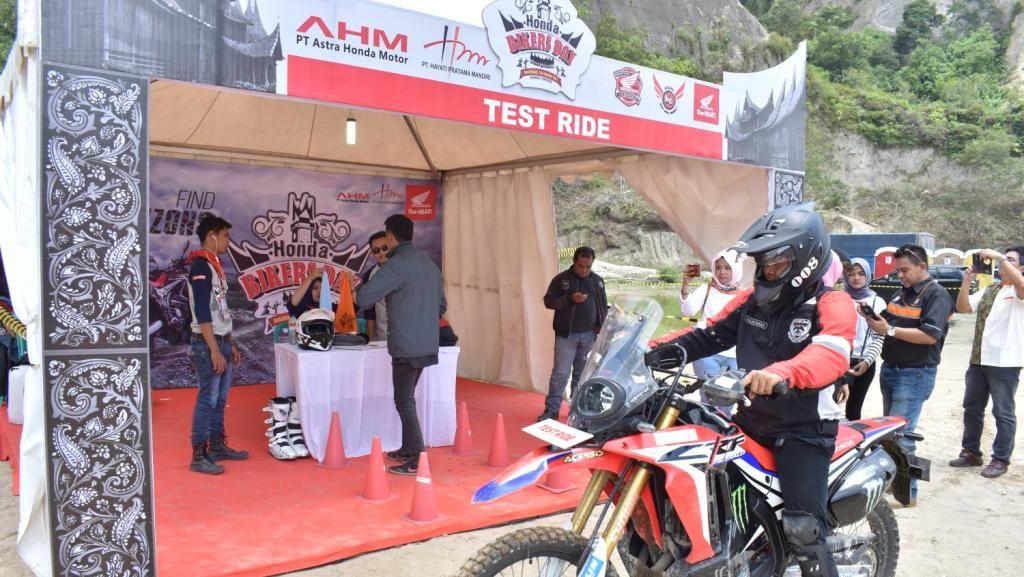 Honda Bikers Day Sapa Bukittinggi
