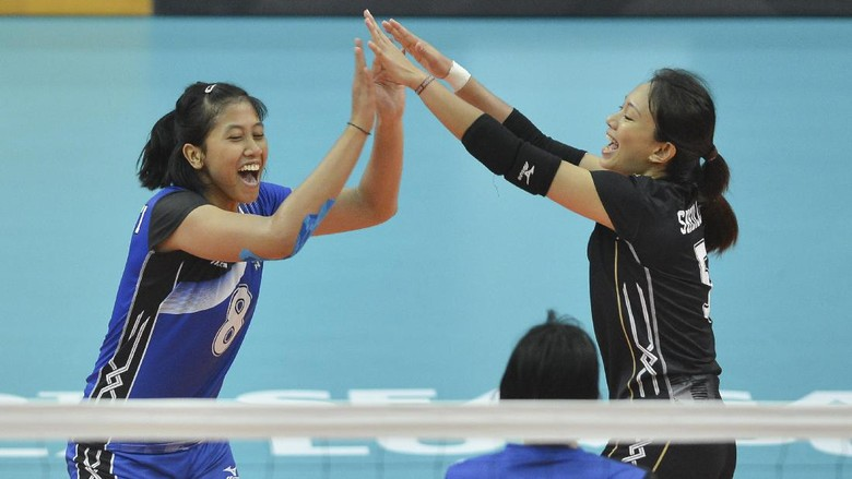 Hadapi Tim Kuat Thailand di Final, Tim Putri Voli Nothing to Lose