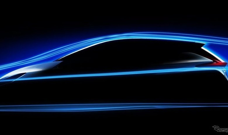 Desain Nissan LEAF Lebih Dinamis