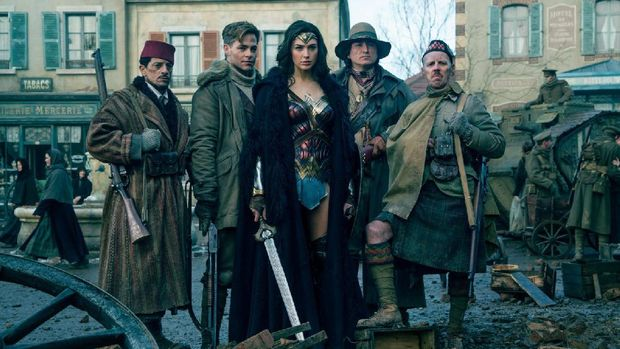 Penulis 'The Expendables' Bakal Garap 'Wonder Woman 2'