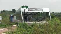 Foto: Stasiun Kereta Bawah Tanah yang Jelek di Luar Bagus di Dalam