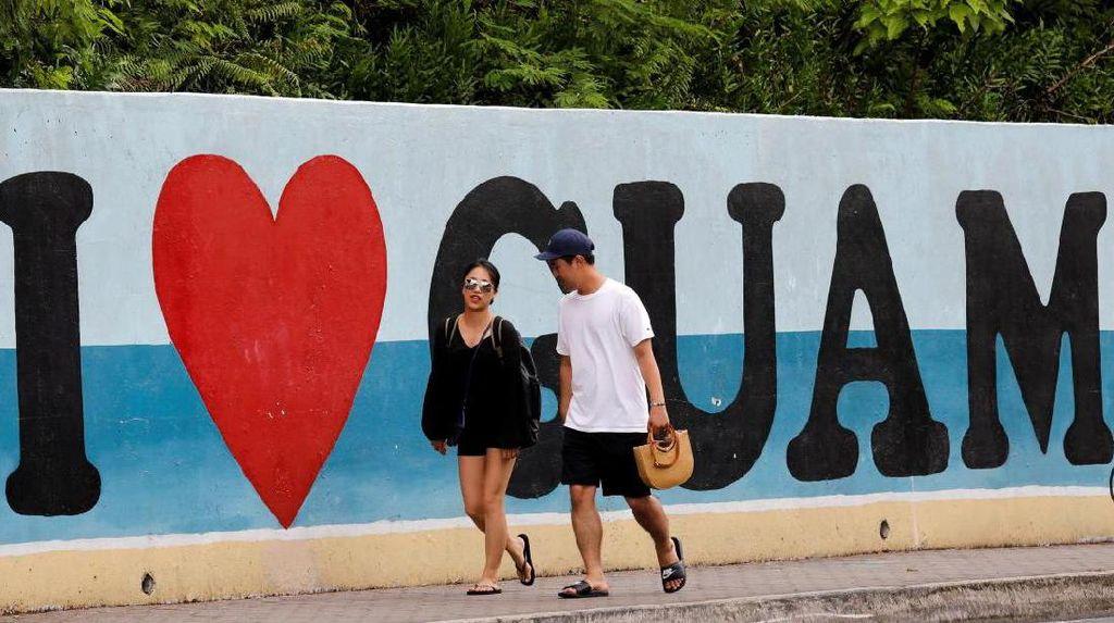 Turis Tetap Padati Guam, Meski Rudal Korut Mengancam