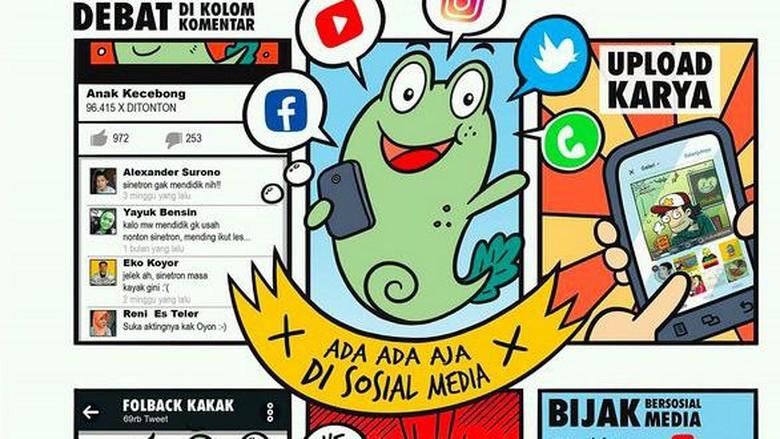 Kaos Kecebong Anak Jokowi, Gambarnya Apa Sih?