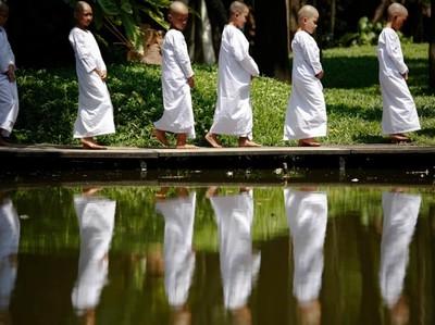 Mengintip Biksu Cilik Wanita di Thailand