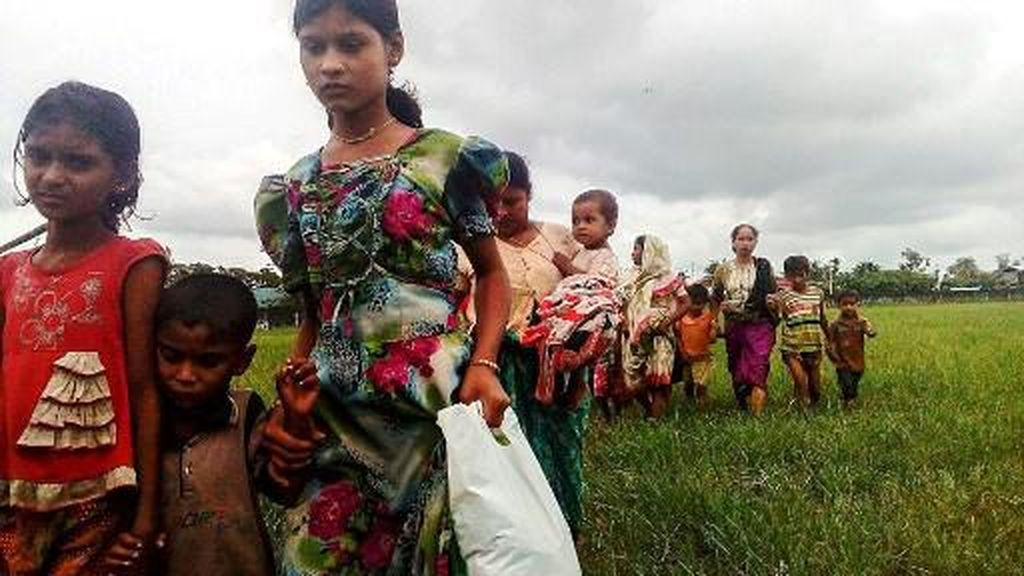 Wajah Melas Warga Rohingya yang Terusir dari Tanah Kelahiran