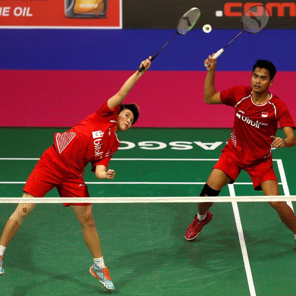 Jadwal Pertandingan Babak Kedua Skuat Indonesia di Denmark Terbuka