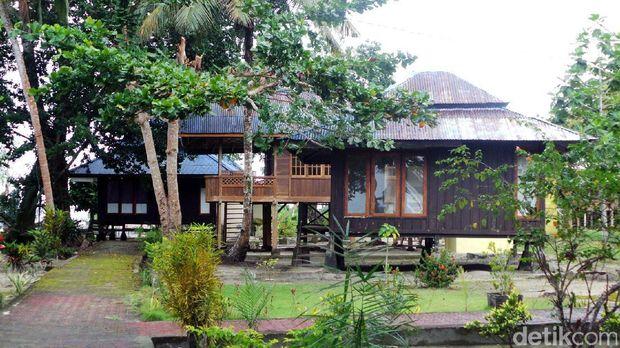 Penginapan di Nusa Ra (Wahyu/detikTravel)