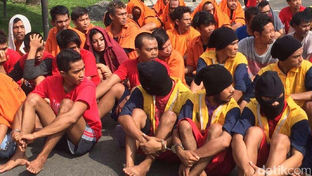 250 Tersangka Narkoba Diciduk dalam 2 Minggu di Medan, Banyak Banget!