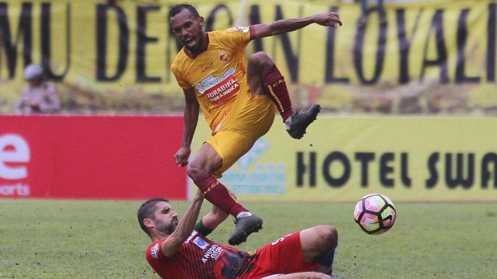 Sriwijaya FC Menang Tipis Atas Persiba