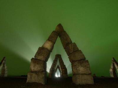 Foto: Monumen Paling Aneh di Utara Bumi