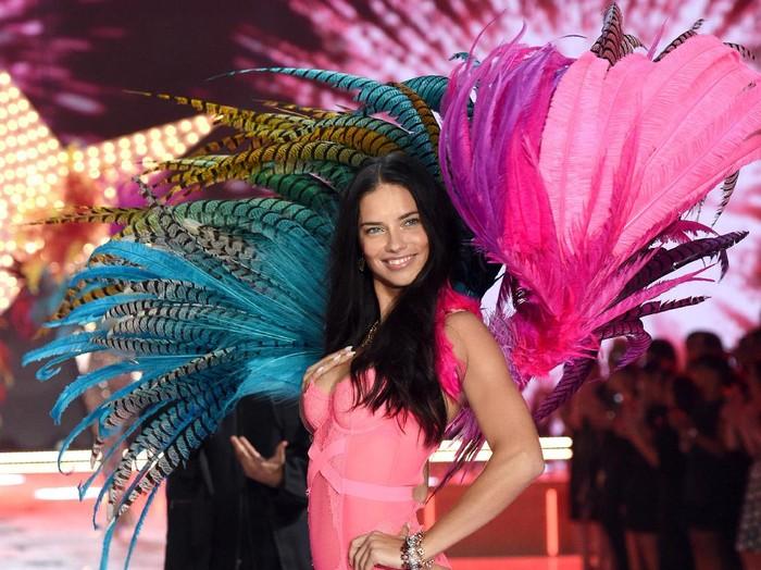 Sebelum tampil di atas catwalk Vicotrias Secret, Adriana Lima berlatih tinju. Foto: Getty Images