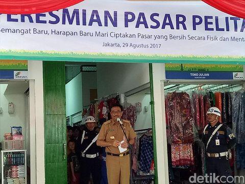 Djarot Ingin Pasar Tradisional Gunakan Transaksi Non-Tunai.
