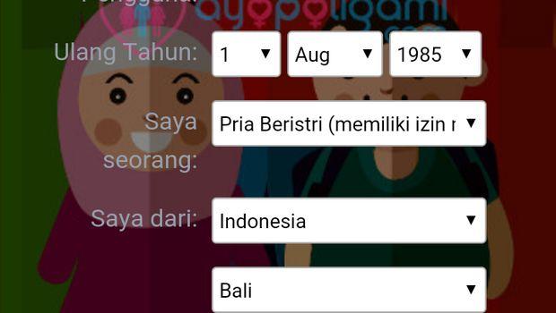 Website dan Aplikasi AyoPoligami Ditutup Sementara