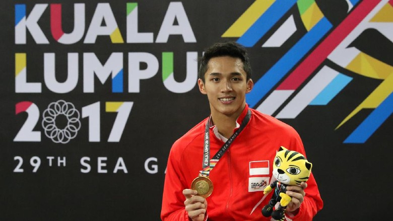 Ini Kunci Kemenangan Jonatan Christie di Final SEA Games 2017