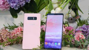 Samsung Hadirkan Galaxy Note 8 Berkelir Pink