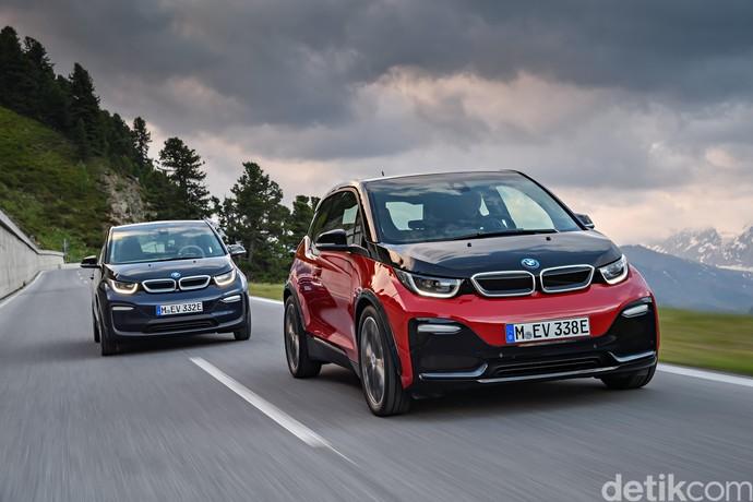Mobil Listrik Mungil BMW