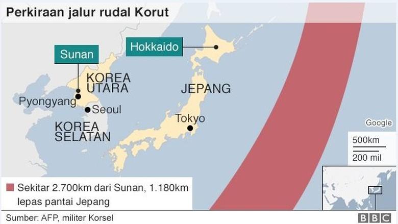 Fakta-fakta Tentang Rudal Korea Utara