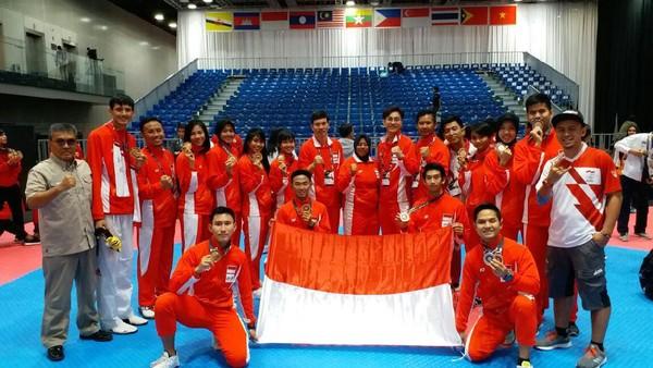 Indonesia Peringkat Keempat Taekwondo, Thailand Juara Umum