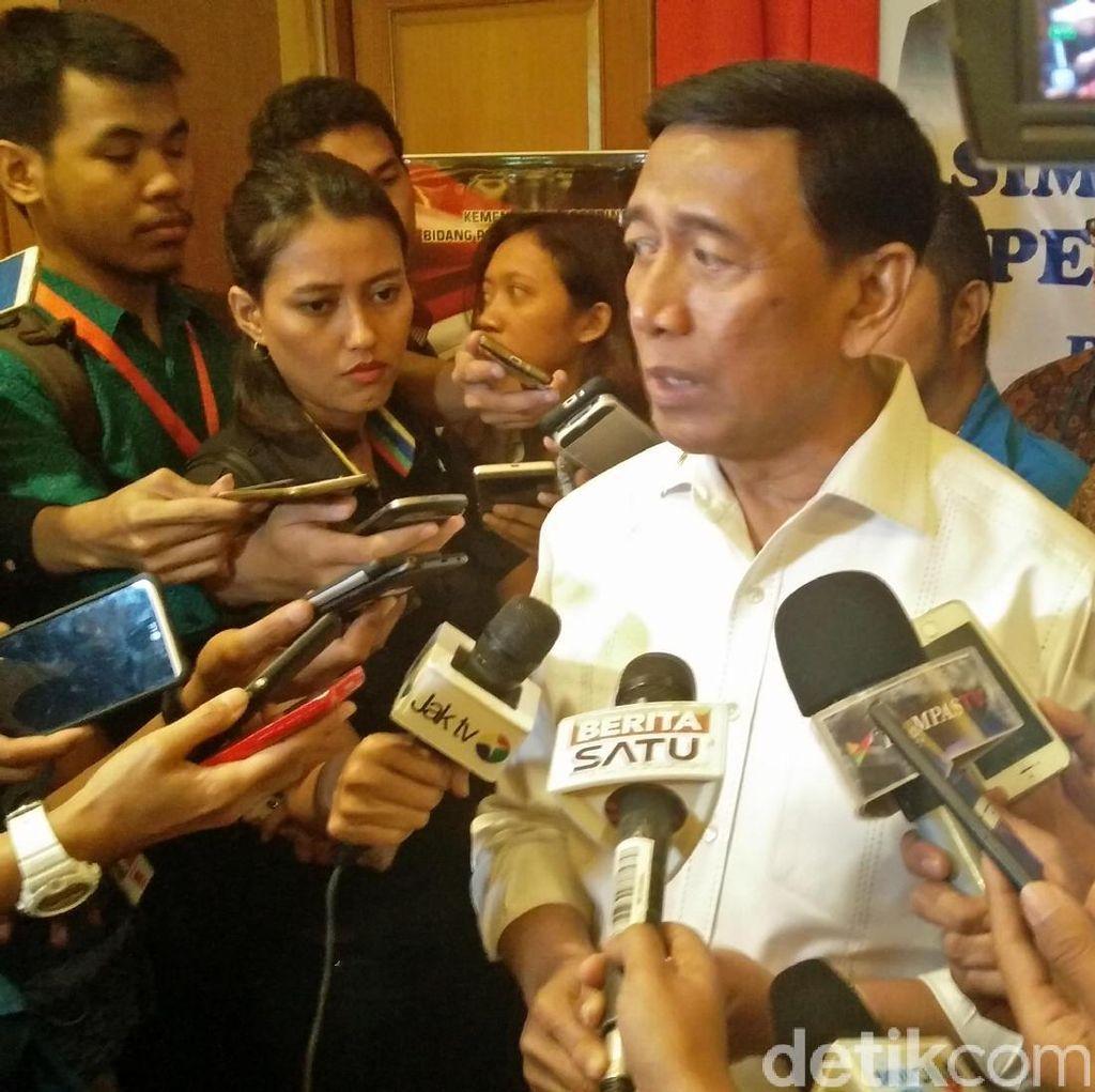 Cerita Wiranto soal TPS Kosong karena Tak Ada Serangan Fajar
