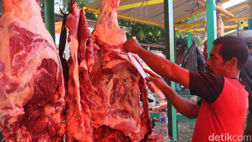 Stok Daging Sapi Surplus 17.183 Ton