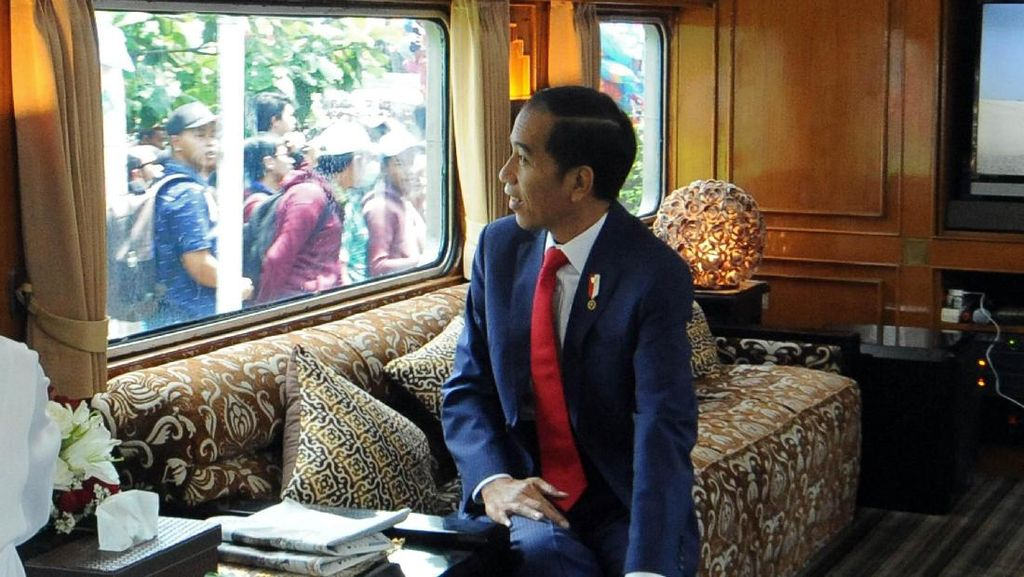 Yuk! Naik Kereta Khusus Seperti yang Ditumpangi Jokowi