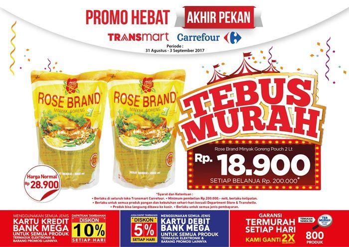 Foto: Tebus Murah Minyak Goreng (Dok. Transmart Carrefour)