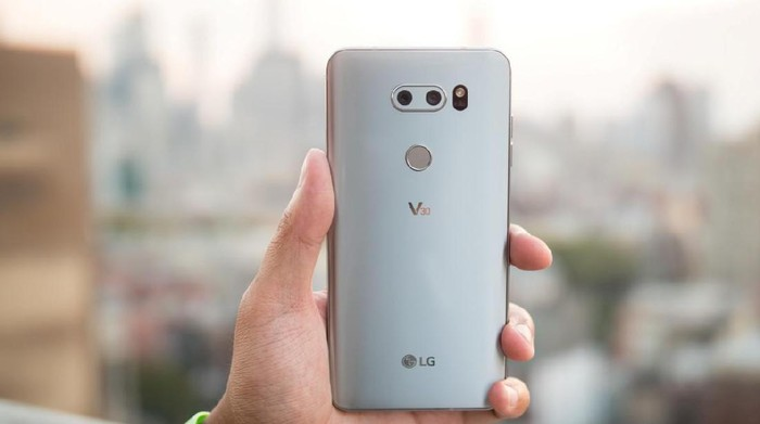 LG V30. Foto: androidauthority
