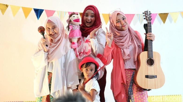 Sarang Cerita, Rumah Dongeng bagi Anak-anak/ Foto: Amelia Sewaka
