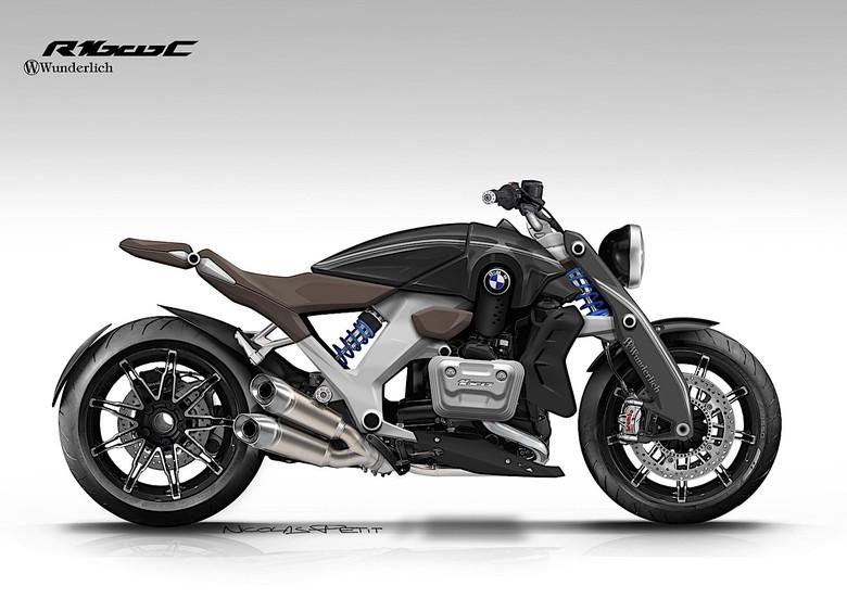 Sangarnya Motor Konsep BMW R 1600 C