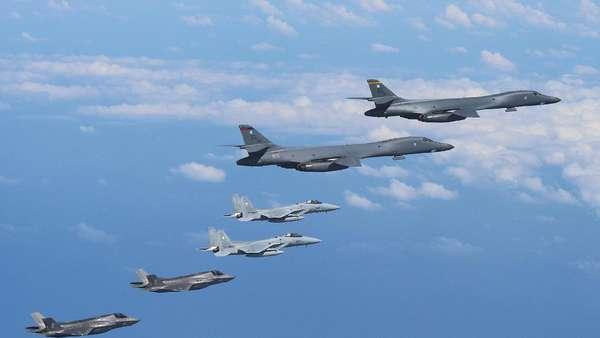 AS-Korsel Latihan Serangan Udara Terbesar di Tengah Ancaman Korut