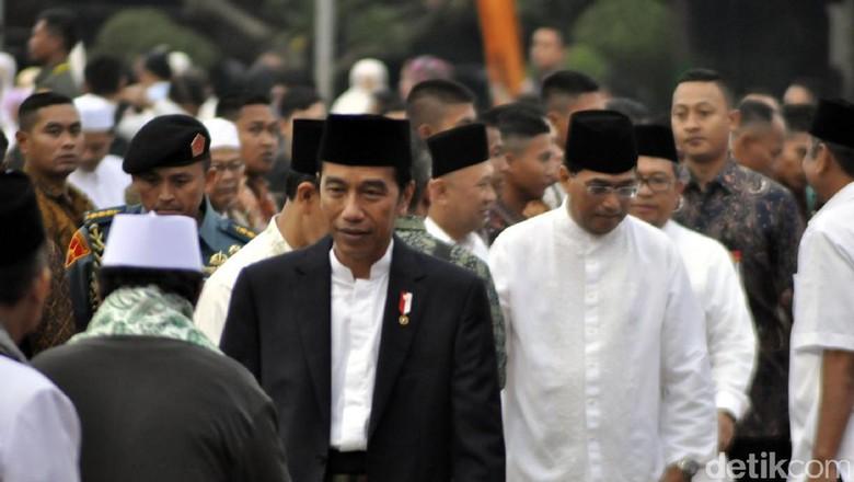 40 Ulama NU dan Muhammadiyah Temui Jokowi di Istana