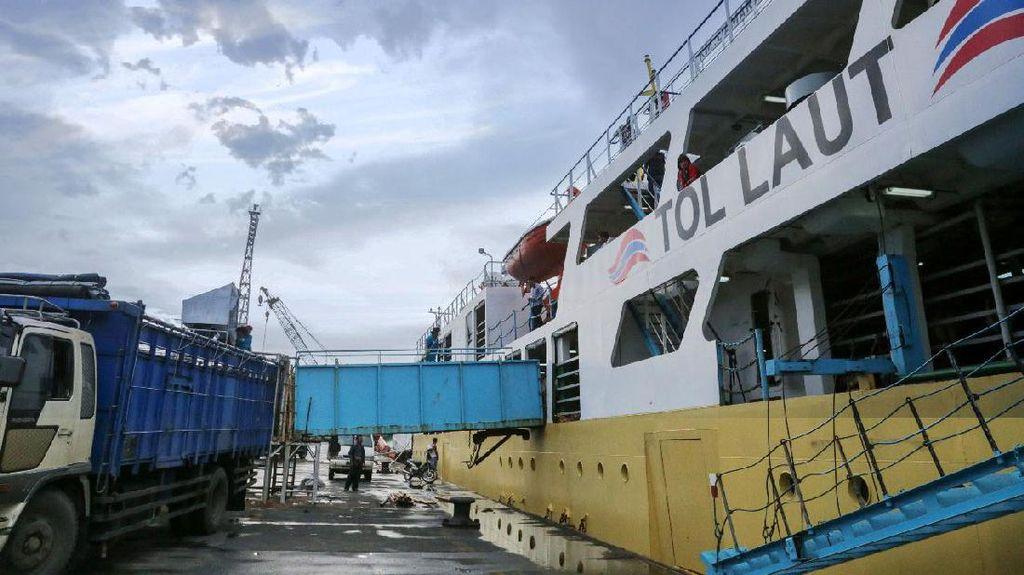 Tol Laut Diklaim Turunkan 30% Harga Bahan Pokok di Papua dan NTT