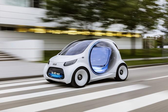 Mobil Listrik Mungil yang Bisa Jalan Tanpa Sopir