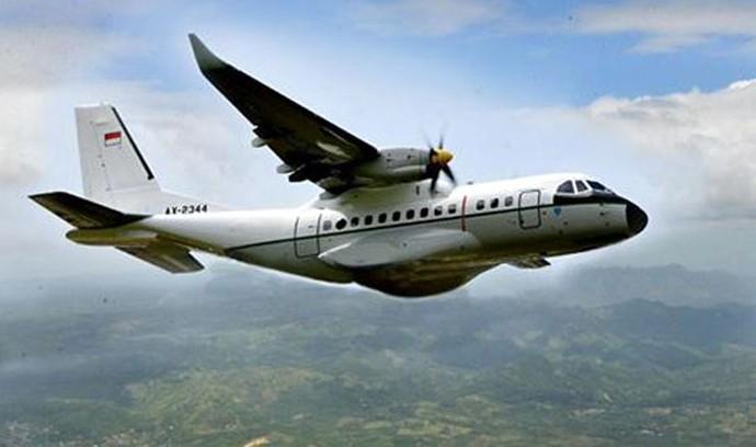 Foto: Ini Lho Pesawat CN235 yang Bikin Jokowi Bangga