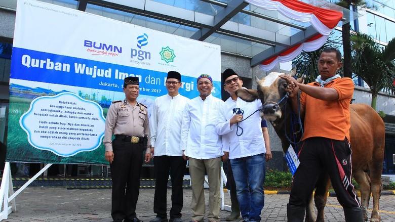 PGN Sebarkan Energi Positif di Sekitar Wilayah Operasional