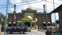 Penampakan Masjid Raya Pekanbaru yang Tak Lagi Cagar Budaya