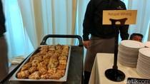 Hidangan di Akad Anak BG-Buwas: Pecel hingga Salmon Pistachio