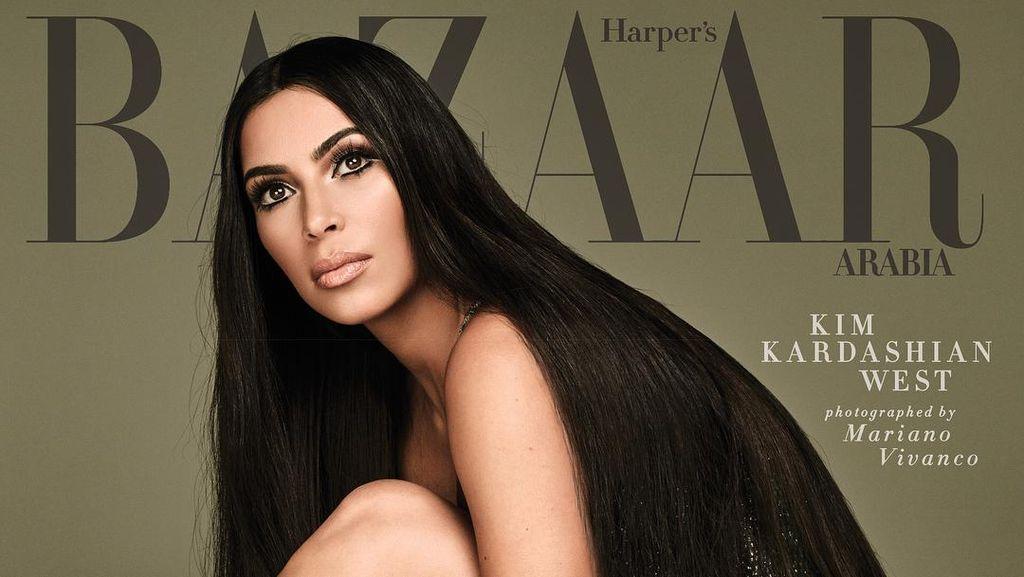 Ingin Punya Rambut Super Lurus Seperti Kim Kardashian? Ini Rahasianya