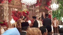 Salam Hormat Komjen Buwas ke Jokowi Usai Akad Nindy-Vino
