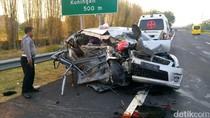Kecelakaan di Tol Palikanci Tewaskan Dua Orang