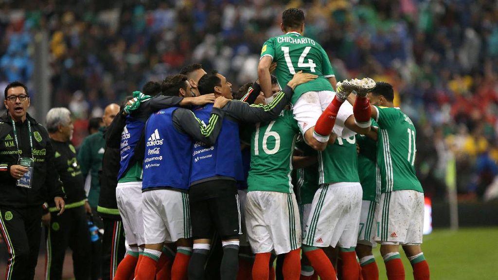 Meksiko Pastikan Tiket ke Piala Dunia Tahun Depan